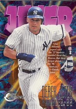 1997 Circa - Rave #200 Derek Jeter Front