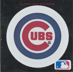 1991 Ultra - Team Stickers #NNO Chicago Cubs Front