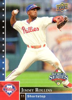 2008 Upper Deck World Series Box Set #PP-1 Jimmy Rollins Front