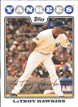 2008 Topps Updates & Highlights #UH128 LaTroy Hawkins Front