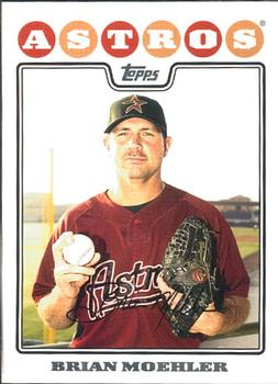 2008 Topps Updates & Highlights #UH22 Brian Moehler Front