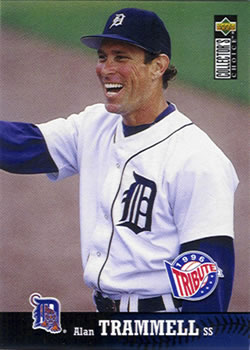 1997 Collector's Choice #105 Alan Trammell Front