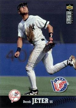 1997 Collector's Choice #180 Derek Jeter Front