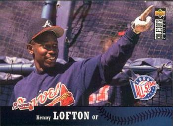 1997 Collector's Choice #264 Kenny Lofton Front