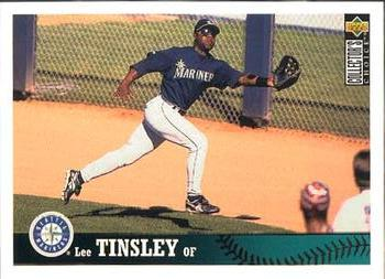 1997 Collector's Choice #478 Lee Tinsley Front