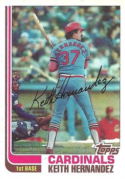 1982 Topps #210 Keith Hernandez Front