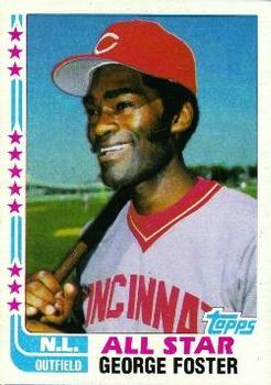1982 Topps #342 George Foster Front