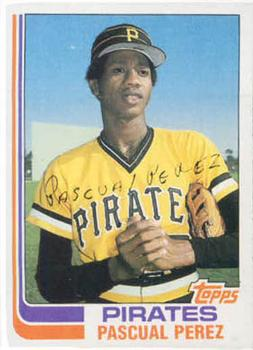 1982 Topps #383 Pascual Perez Front