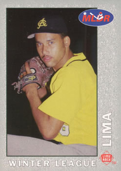 1993 Lime Rock Dominican Winter League #87 Jose Lima Front