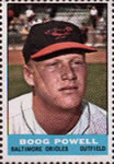 1964 Bazooka Stamps #NNO Boog Powell Front