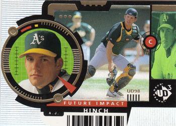 1998 Upper Deck Retro New Frontier//1000 #NF26 AJ Hinch Oakland Athletics Card