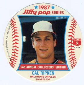 1987 Jiffy Pop Discs Baseball Gallery The Trading Card Database
