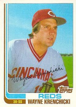 1982 Topps Traded #58T Wayne Krenchicki Front