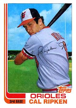 1982 Topps Traded #98T Cal Ripken Jr. Front