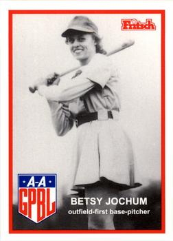 1995 Larry Fritsch Cards AAGPBL Series 1 #94 Betsy Jochum Front