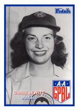 1996 Larry Fritsch Cards AAGPBL Series 2 #274 Chris Jewitt Front