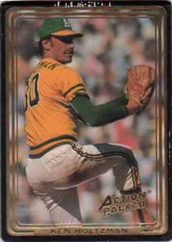 1992 Action Packed All-Star Gallery #57 Ken Holtzman Front