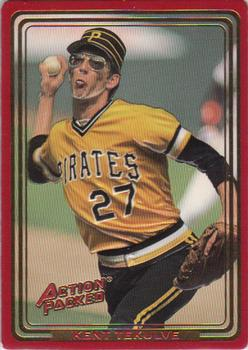 1993 Action Packed All-Star Gallery #167 Kent Tekulve Front