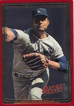1993 Action Packed ASG #121 Don Drysdale Front