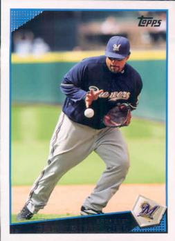 2009 Topps #480 Prince Fielder Front