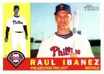 2009 Topps Heritage #31 Raul Ibanez Front