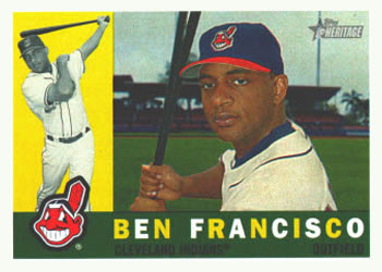 2009 Topps Heritage #427 Ben Francisco Front