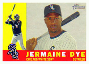 2009 Topps Heritage #428 Jermaine Dye Front