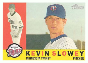 2009 Topps Heritage #430 Kevin Slowey Front