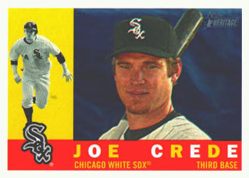 2009 Topps Heritage #435 Joe Crede Front