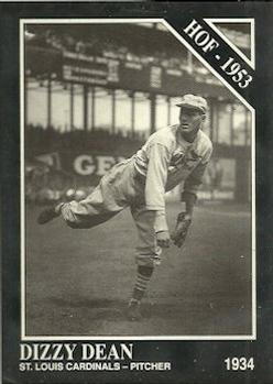 1991 Conlon Collection TSN #3 Dizzy Dean Front