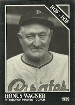 1991 Conlon Collection TSN #8 Honus Wagner Front