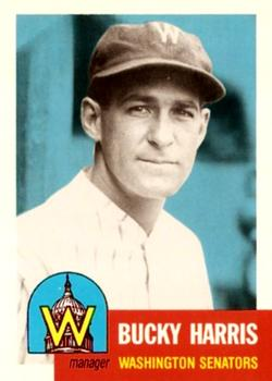1991 Topps Archives 1953 #313 Bucky Harris Front