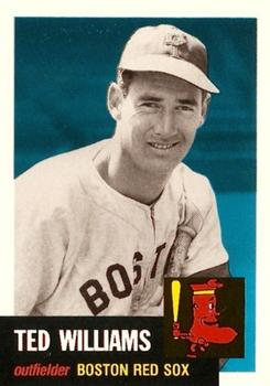 1991 Topps Archives 1953 #319 Ted Williams Front