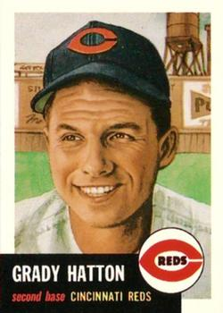 1991 Topps Archives 1953 #45 Grady Hatton Front