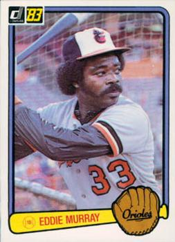 1983 Donruss #405 Eddie Murray Front