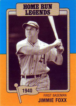 Collection Gallery Sandys Singles Jimmie Foxx The
