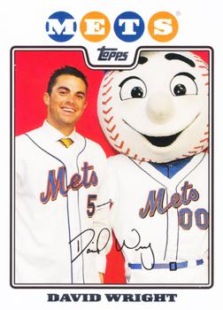 2008 Topps - Back To School #TB5 David Wright Front