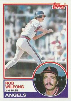 1983 Topps #158 Rob Wilfong Front