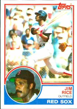 1983 Topps #30 Jim Rice Front