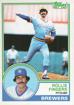 1983 Topps #35 Rollie Fingers Front