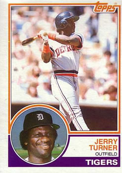 1983 Topps #41 Jerry Turner Front