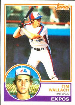 1983 Topps #552 Tim Wallach Front