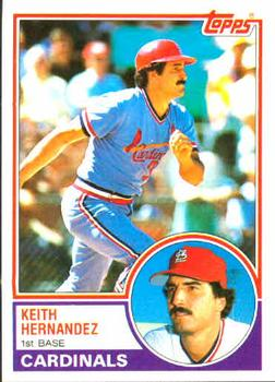 1983 Topps #700 Keith Hernandez Front
