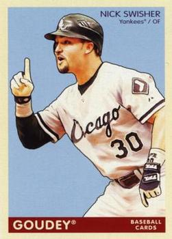 Nick Swisher Gallery The Trading Card Database