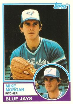1983 Topps Traded #78T Mike Morgan Front