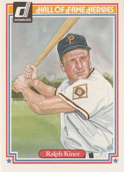 1983 Donruss Hall of Fame Heroes #38 Ralph Kiner Front