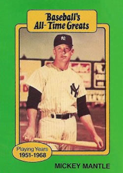 Mickey Mantle Gallery The Trading Card Database