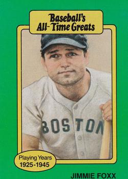 Jimmie Foxx Gallery The Trading Card Database