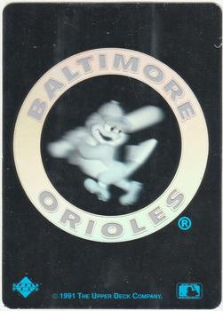1991 Upper Deck Team Logo Holograms Baseball Gallery The