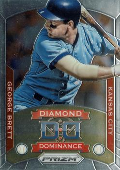 Honkbal 2014 Topps Stadium Club Legends Die-Cuts #LDC-6 George Brett Kansas City Royals Verzamelkaarten: sport